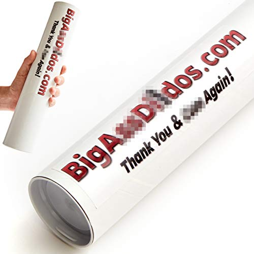 Super Hilarious, Novelty Prank Mail Tube. We'll Ship an Anonymous, Embarrassing Package to Mortify and Offend Your Friends. Get Revenge with The Best Funny Adult Gag Gift and Practical Joke Packaging