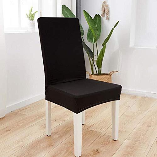 LLAAIT Fundas para sillas Funda de Asiento elástica para el hogar para Restaurante Banquete Estiramiento Universal Protector Floral Moderno extraíble Lavable
