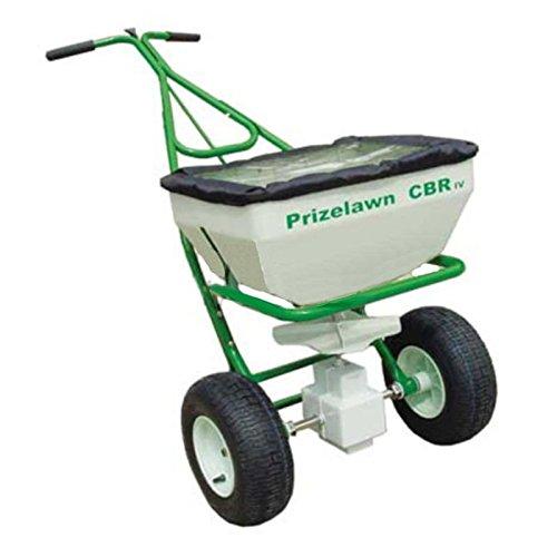 PrizeLawn CBR IV Broadcast Walk Behind Powder Coat Fertilizer 70 lbs Spreader