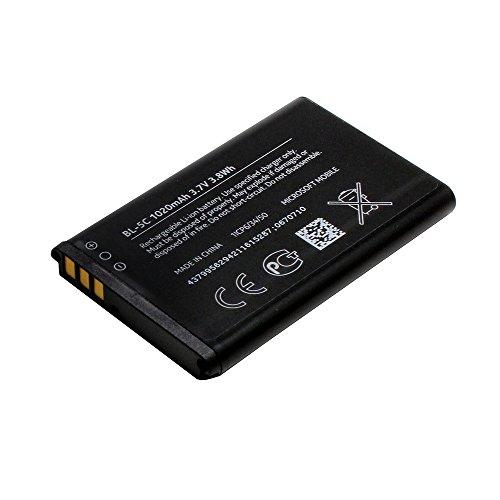 Akku für Nokia 130 Dual SIM (BL-5C, 1020 mAh);