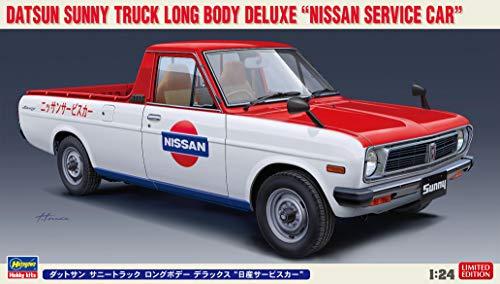 ハセガワ 1/24 ダットサン サニートラック ロングボディーデラックス 日産サービスカー プラモデル 20482