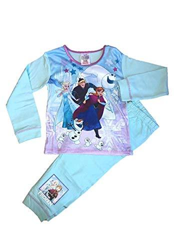 Disney Pyjama-Set Mädchen Frozen ELSA Anna Pyjama - Multi, Größe 98