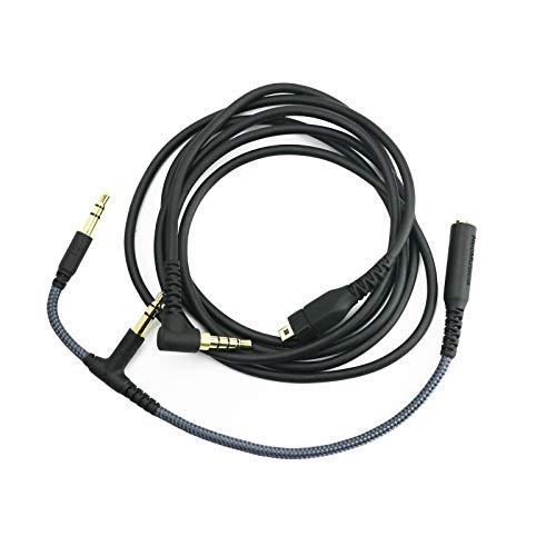 Hansnby Cable de audio de repuesto compatible con SteelSeries Arctis 3, Arctis Pro Wireless, Arctis 5, Arctis 7, Arctis 9X, Arctis Pro Gaming Headset 1,2 metros/4 pies