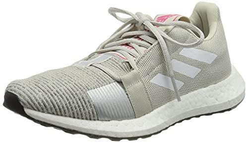 Adidas SenseBOOST GO w, Zapatillas de Trail Running Mujer, Multicolor (Griuno/Ftwbla/Rossho 000), 38 EU