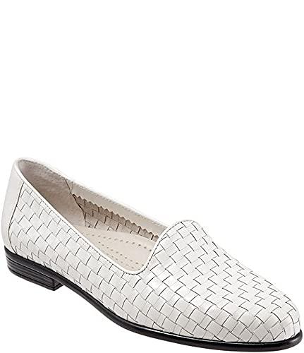 [トロッターズ] シューズ 24.0 cm パンプス Liz Woven Block Heel Loafers White レディース [並行輸入品]