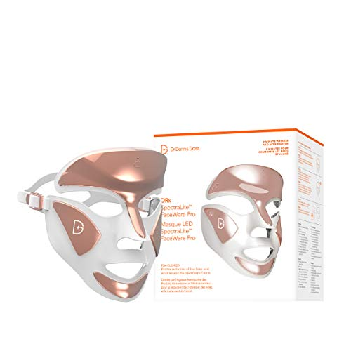 Dr. Dennis Gross DRx SpectraLite Dpl FaceWare Pro: Smooths Full Face Fine Lines and Wrinkles, Firms...