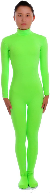 Seeksmile Unisex Lycra Spandex Dancewear Catsuit Bodysuit