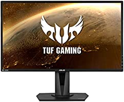 Asus TUF Gaming HDR Gaming Monitor, 27 inch WQHD, IPS, 165 Hz, Extreme Low Motion Blur, Sync G-SYNC Compatible,...