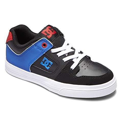 DC Shoes Jungen Dc Shoes Pure Elastic - für Jungen Sneaker, Black Royal Black, 35 EU