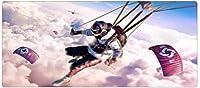 DGSJH マウスパッドゲームマウスパッド大型滑り止め耐久性マウスマットオフィス&ホーム&ゲーム&ギフト&ガール&ボーイ(サイズ:800x300x3mm)OUS1453