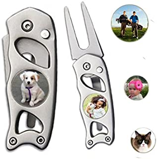 Indiana Metal Craft Switchblade Divot Repair Tool Stainless Steel Photo Image Personalized GDT992PCQ