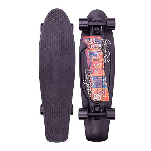 PENNY skateboard(ペニースケートボード)27inch GRAPHICS POSTCARD COLLECTION URBAN ブラック 1NGR5