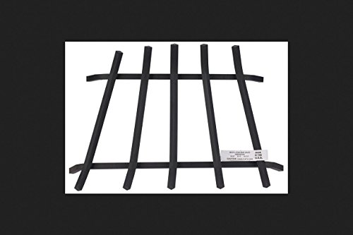 Buy Discount Vestal Fireplace Grate Steel 24  Front, 20  Back Painted Black 6 Bars