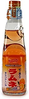 Ramune Orange Japanese Marble Soda - 6.76oz Bottle
