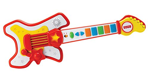 Fisher-Price, Guitare Rockstar, Jouet +2 Ans (Reig KFP2183), Rouge