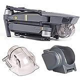 El paquete incluyó: 1 cubierta de la cerradura y de la lente del gimbal de x; 1 x parasol Bloqueo de gimbal y tapa de lente: Bloquea la posición del cardán y protege a la cámara contra impactos durante el transporte y el almacenamiento Cubierta de la...