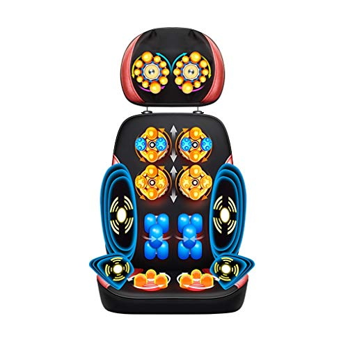 Back Massagers Massage Cushion Lying Massager Electric Massage Chair Multi-Function Body Massage Cushion Shoulder Cervical Massager Home Cushion Cushion Gift for Parents Best New Year Gift