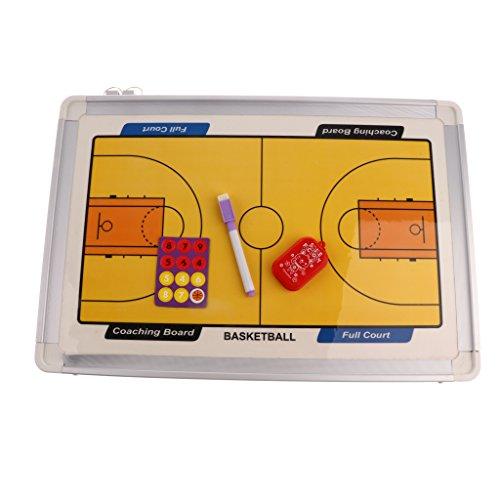 perfeclan Baloncesto Entrenamiento Magnético Tablero De Borrado En Seco Tablero De Jugador Colgante