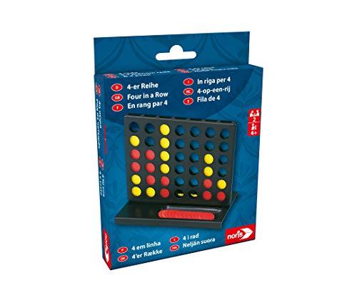 noris 606101068 Noris-4er Reihe-Aktionsspiel für die ganze Familie ab 4 Jahre Spielzeug