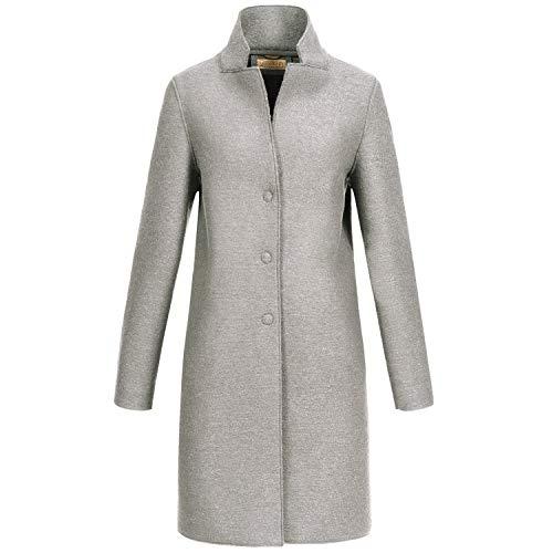 GIESSWEIN Walkmantel Lara - Damen Mantel aus 100% Wolle, eleganter Gehrock aus Walk, warme Jacke für Frauen, Schurwolle, Jacke ohne Reißverschluss