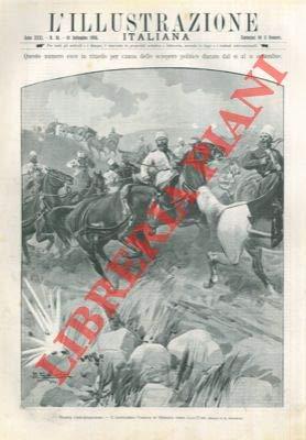 Guerra russo - giapponese : i cosacchi in ritirata verso Liao - Yang.