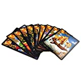 SYEA 47 Mazzi di Carte dei Tarocchi Carte dei Tarocchi Astrologici Tarocchi Dorati Facili da Trasportare