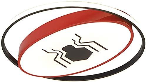 HTL Éclairage décoratif Plafonnier Pour Enfants Lampe Chambre Creative Batman Spider-Man personnalité garçon lampe Chambre Protection des yeux Led Hero lampe de plafond,Petit