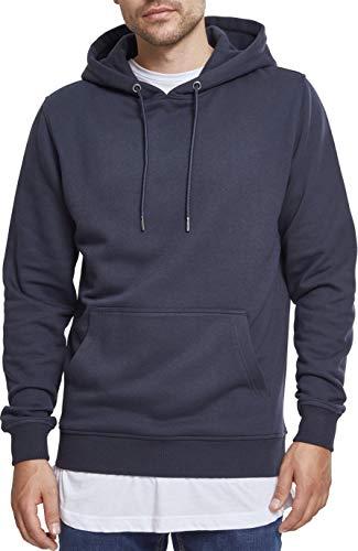 Urban Classics Herren Kapuzenpullover Basic Sweat Hoodie, Blau (Navy 00155), M