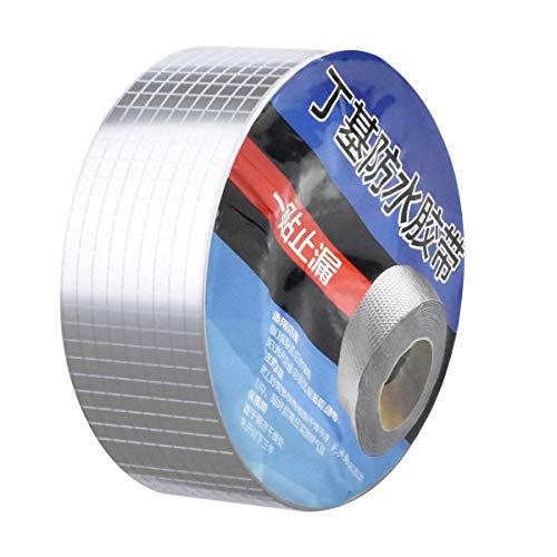 Dokpav 50mmx5m cinta de goma de butilo, Impermeable Sellador