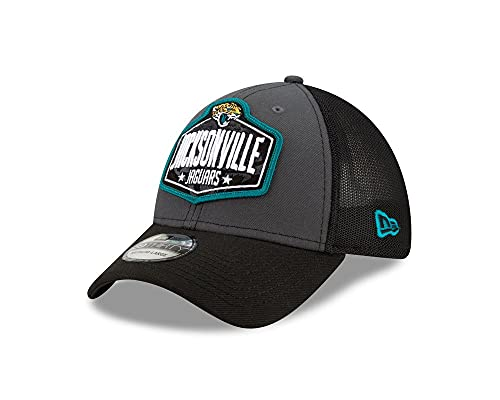 New Era - Gorra de la NFL Jacksonville Jaguars 2021 Draft 39Thirty Trucker Stretch Cap - Multicolor multicolor Large/X-Large