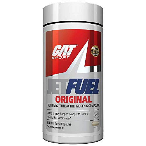GAT Sport JetFuel Original - Weight Loss Supplement, Energy Booster, Fat Burner, Appetite Suppressant (144 Capsules) Product Name