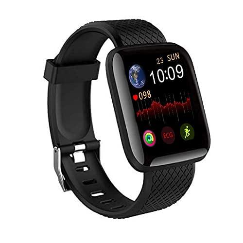"Amazpro (2+1 Years Replacement Warranty) D116 Intelligence 1.3"" Full Capacative Touch Bluetooth Monitor/Smart Bracelet/Health Bracelet/Smart Watch for Men/Activity Tracker/Bracelet Watch for All"