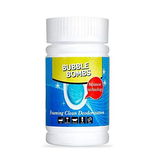 Teekit Limpiador de inodoro de espuma rápida, desodorizante para fregaderos, desagües y cocina
