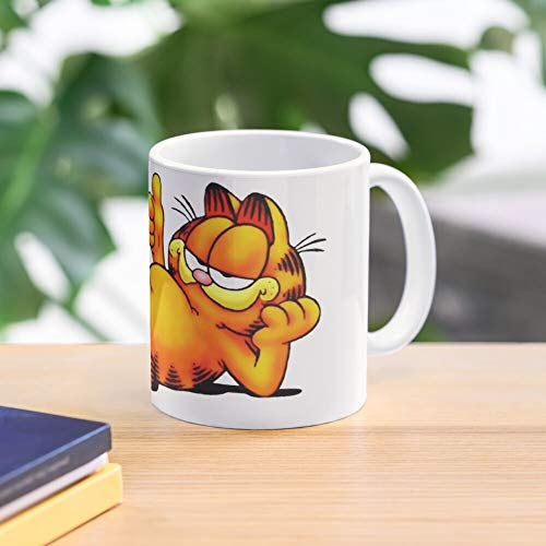 Allbirds Relaxing Mug Garfield Best 11 oz Kaffeebecher - Nespresso Tassen Kaffee Motive