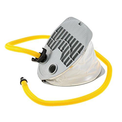 Docooler Aufblasbare Boot Hochdruck Fuß Pumpe Luft Pumpe mit Schlauch Adapter