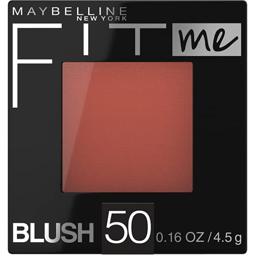 Maybelline Fit Me Blush (Various Shades) $2.35 w/ Subscribe & Save + Free Shipping w/ Prime or $25+