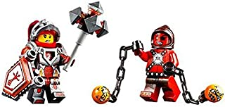 LEGO Minifigures - Nexo Knights (2 minifigures: Beast Master and Macy Halbert). No packaging.