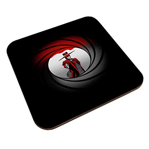 Alucard Hellsing Castlevania Bond Mix Coaster