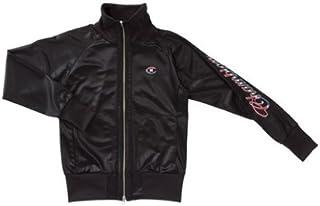 チャンピオン(champion) ウォームアップシャツ(レディース) CLW5005 KT ブラック/トリコロール M
