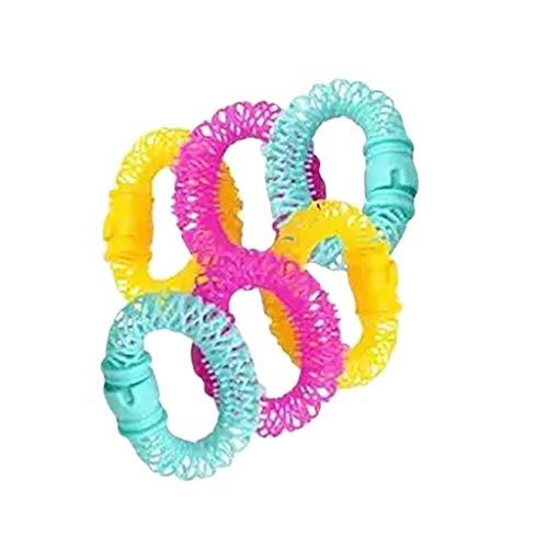 DIY Lockenstab Klein 8pc Magische Haar Donuts Cruller Donut Lockenwickler Locken schnell Haare ohne zu verletzen
