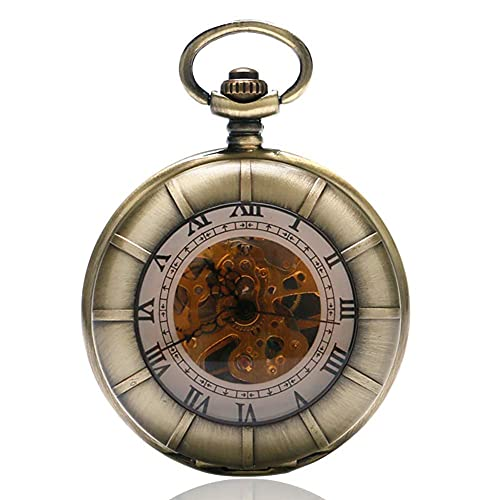 WWXL Reloj para Hombre Correr Tren de Vapor Reloj de Bolsillo Regalo Colgante Unisex