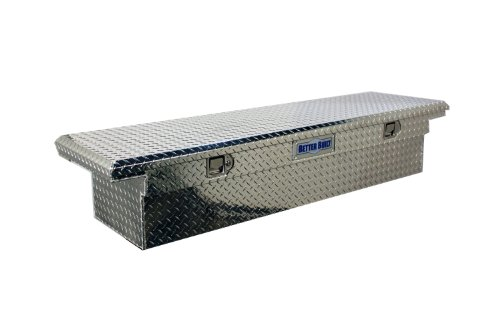 Better Built 73010911 Crown Series Low Profile Crossover Tool Box L 69 in. x W 20 in. x H 13 in. Brite Aluminum Single Lid Crown Series Low Profile Crossover Tool Box