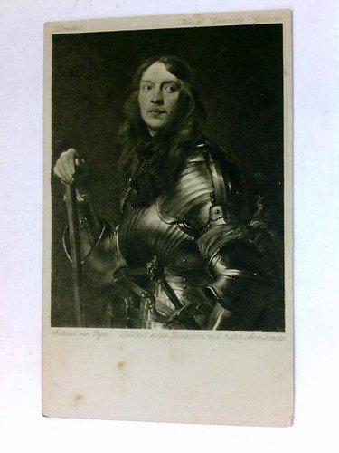 Bildnis eines Feldherrn mit roter Armbinde