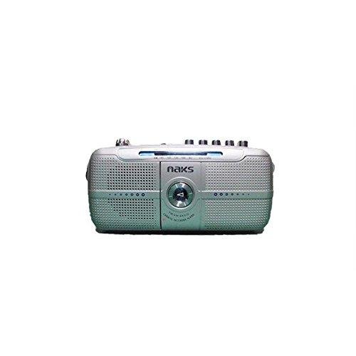 Naks RC-7202 Radio Cassette PORTÁTIL con MICRÓFONO Integrado