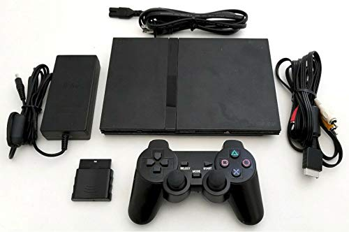 Sony PS2 SLIM Video Game System Gaming Bundle Console Set Playstation-2 Mini (Renewed)