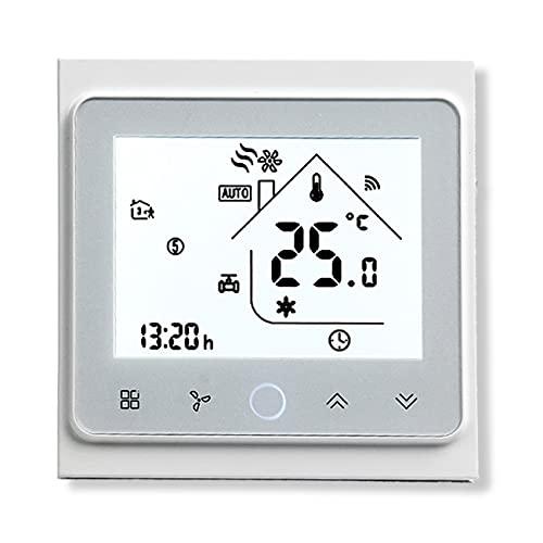 BecaSmart Series 002 Termostato Inteligente Wi-Fi Pantalla...
