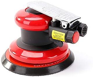 Pneumatic Random Orbit Sander Air Tool Air Powered,Palm Sander,Air Sander DA for Auto body Automotive,Wood Working (5 Inch)
