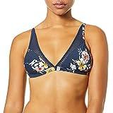 Seafolly Midsummer Fixed Longline Tri Tops de Bikini, Azul (Indigo), 36 para Mujer