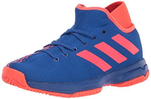 adidas Phenom Tennis Shoe, Royal/Solar Red/Solar Red, 1.5 US Unisex Big Kid