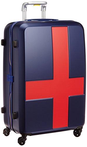 [イノベーター] スーツケース グッドサイズ 消音キャスター INV63T 保証付 70L 70 cm 3.6kg ネイビー/レッド